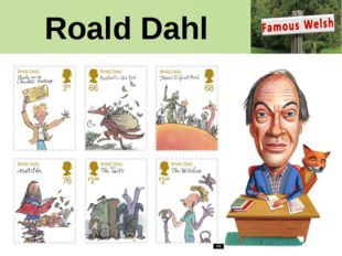 Roald Dahl Roald Dahl's work is being celebrated in a set of special stamps.