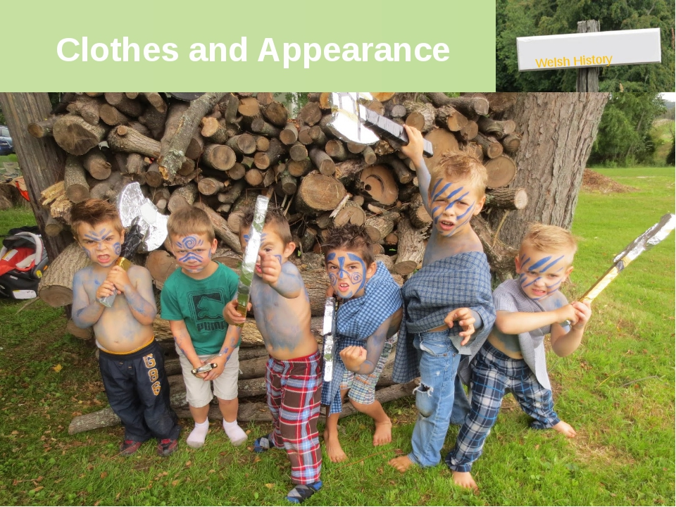 Clothes and Appearance Welsh History The Iron Age Celts' clothes might have l...