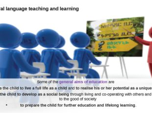 Intercultural language teaching and learning Some of the general aims of educ