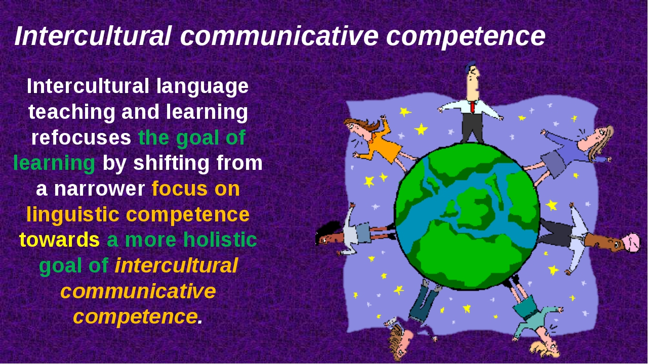 Intercultural language teaching and learning refocuses the goal of learning b...