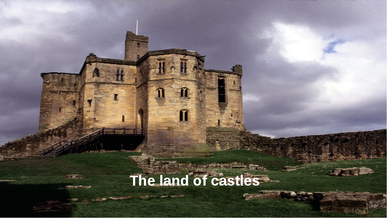 The land of castles