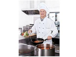 Основная профессия предприятий общественного питания - повар. Повар работает