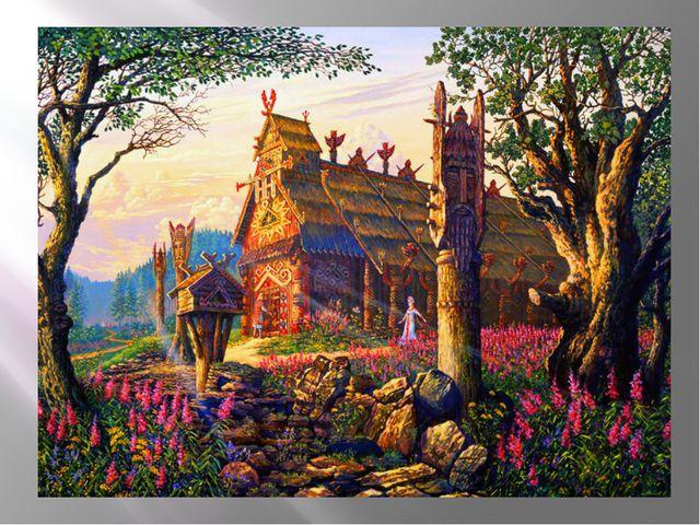 Род родилСварога— великого бога, который довершил творение мира. От него п...