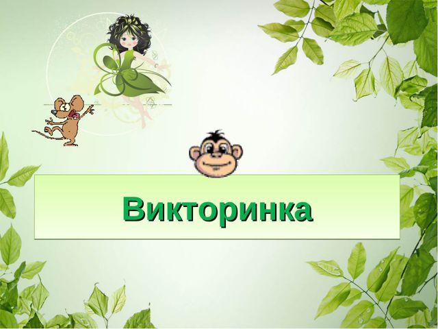 Викторинка