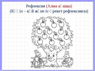 Рефлексия (Алма ағашы) (Көңіл – күй және іс-әрекет рефлексиясы)