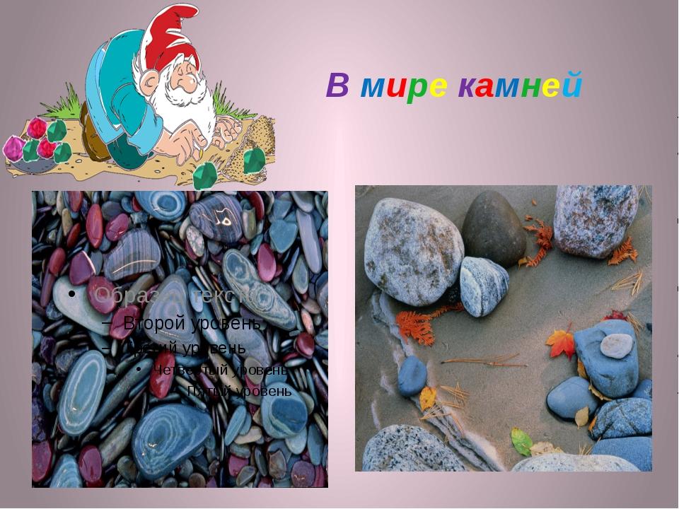 В мире камней