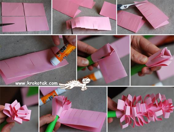 Поделка из бумаги своими руками на день рождение бабушке