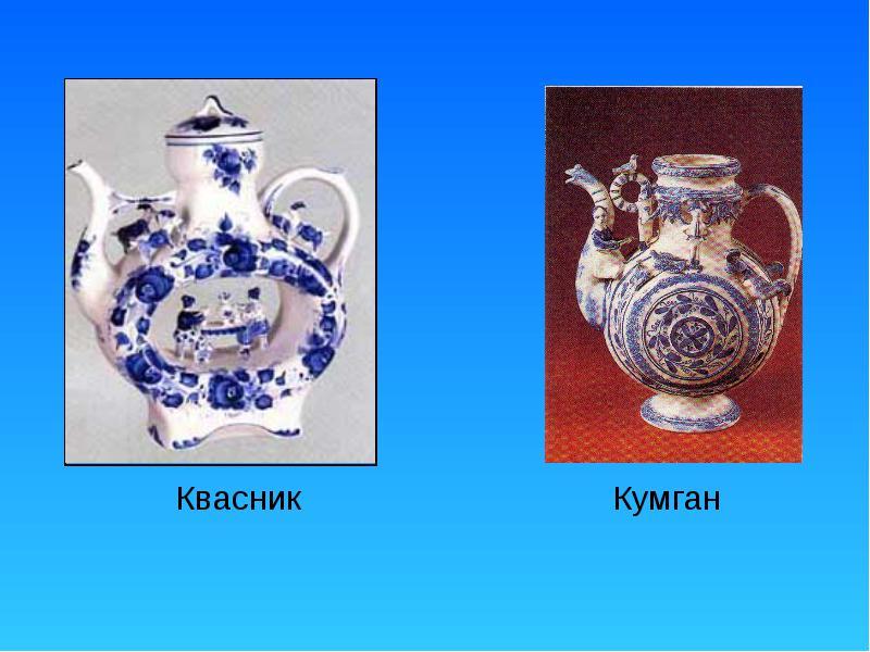 Виды керамики Квасник Кумган