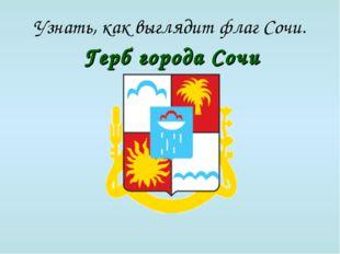 Узнать, как выглядит флаг Сочи. Герб города Сочи