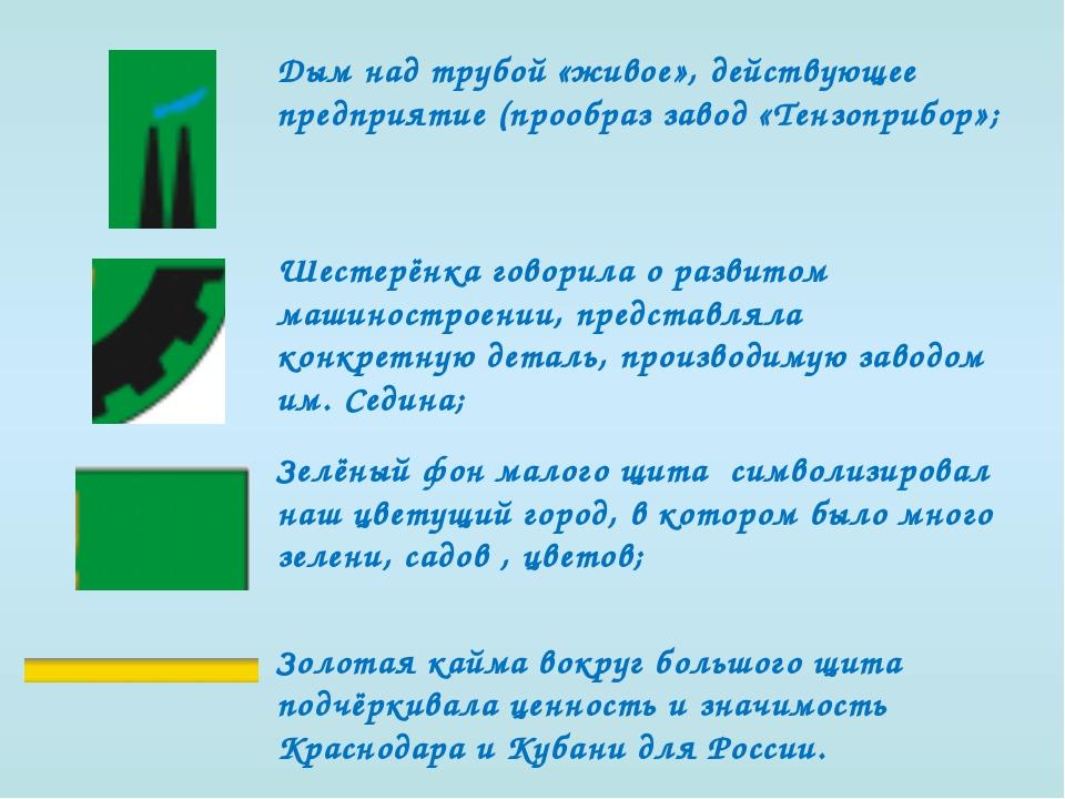 Дым над трубой «живое», действующее предприятие (прообраз завод «Тензоприбор»...