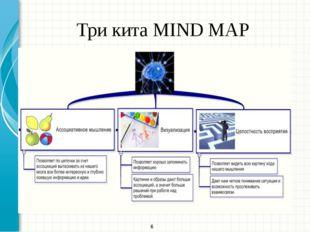 Три кита MIND MAP