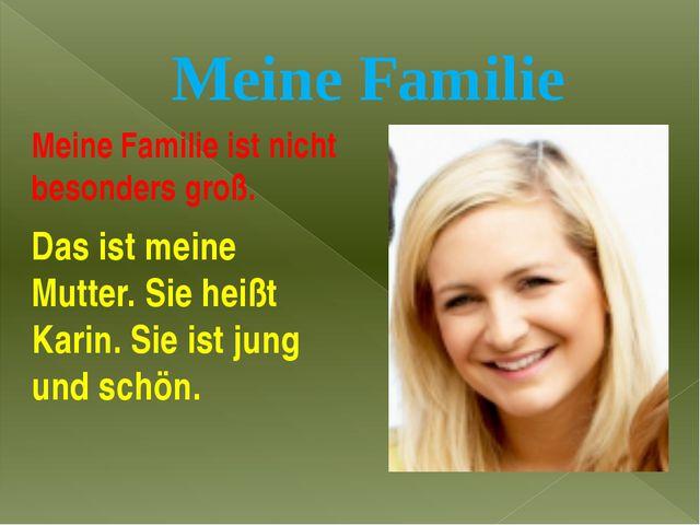 Сочинение о семье немецкий 5 класс