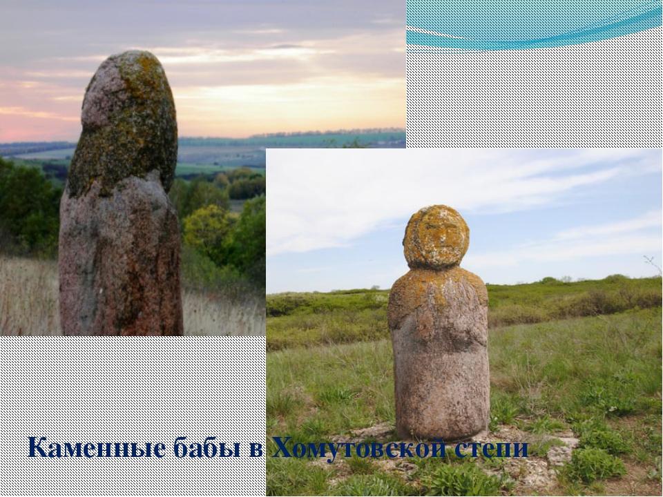 Каменные бабы в Хомутовской степи
