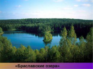 «Браславские озера»
