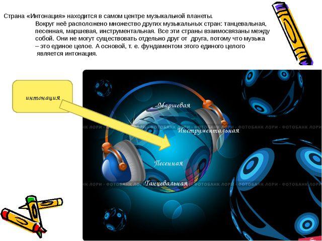 Танцевальная Маршевая Песенная Инструментальная интонация Страна «Интонация»...