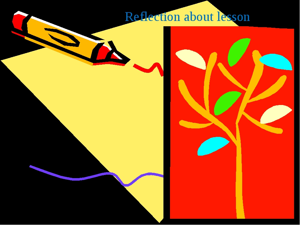 Reflection about lesson