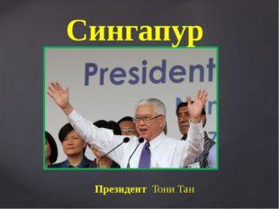Президент Тони Тан Сингапур {