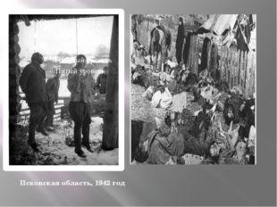 Псковская область, 1942 год