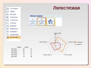 Лепестковая группа 1група 2 05.01.20113212 06.01.20123212 07.01.201228