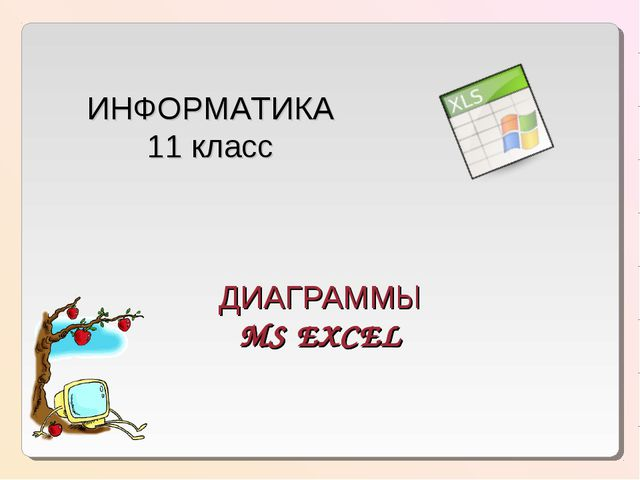 ДИАГРАММЫ MS EXCEL MS EXCEL