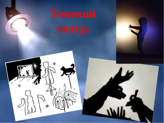 Теневой театр.