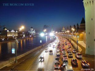 THE MOSCOW RIVER