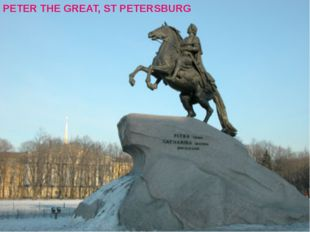 PETER THE GREAT, ST PETERSBURG