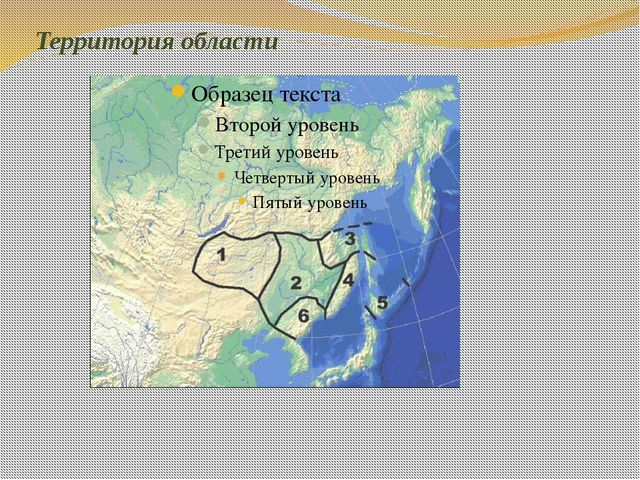 Территория области