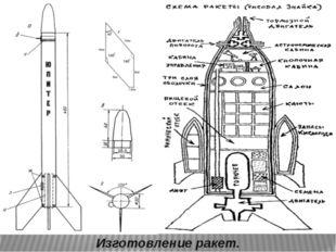 Изготовление ракет.