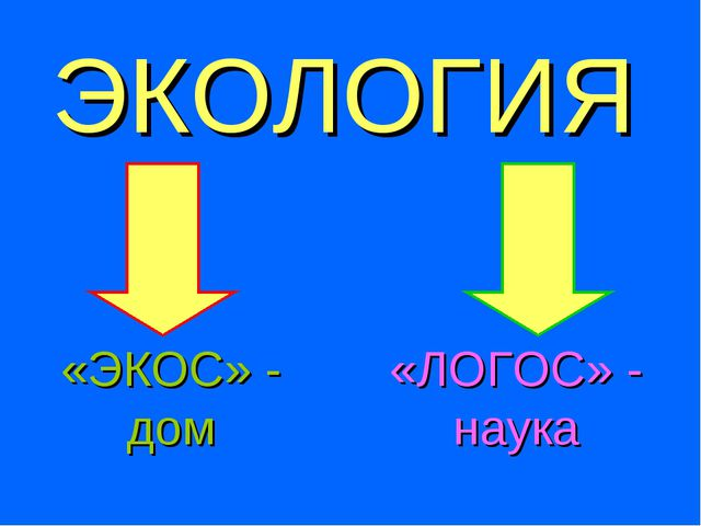 ЭКОЛОГИЯ «ЭКОС» - дом «ЛОГОС» - наука