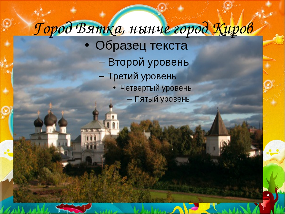 Город Вятка, нынче город Киров