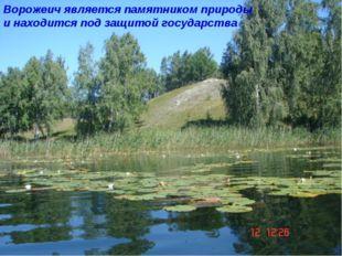 Ворожеич является памятником природы и находится под защитой государства
