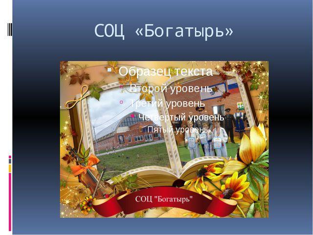 СОЦ «Богатырь»