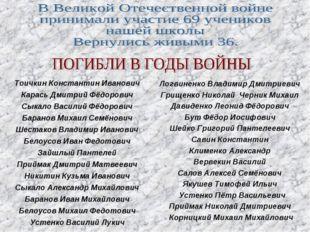 Тоичкин Константин Иванович Карась Дмитрий Фёдорович Сыкало Василий Фёдорович