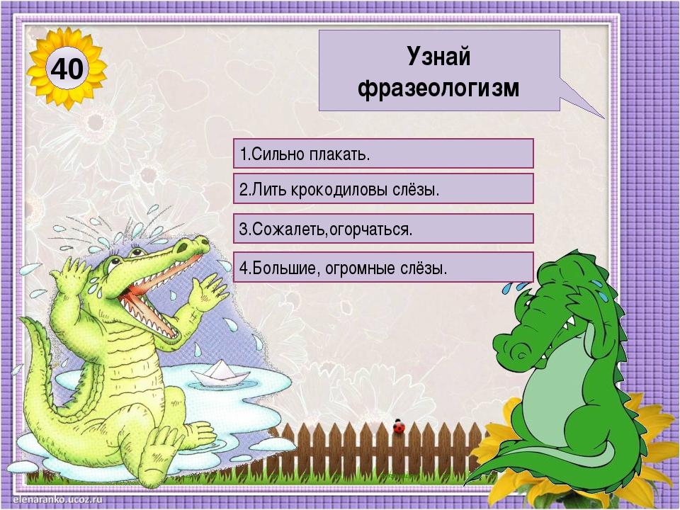 Выражение крокодиловы слезы