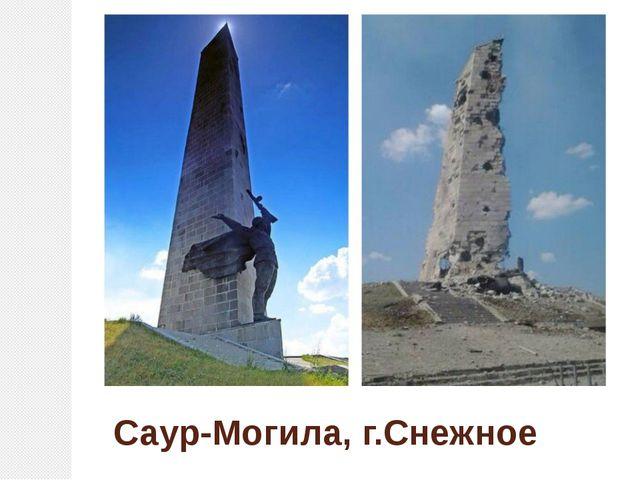 Саур-Могила, г.Снежное