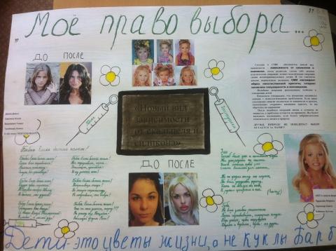 Моё право выбора - Средняя школа № 1371 с углубленным изучением английского языка г. Москвы (бывшая 1132)