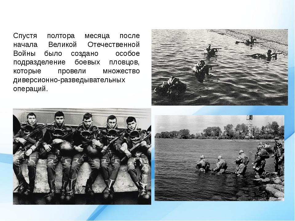 Спустя полтора месяца после начала Великой Отечественной Войны было создано о...