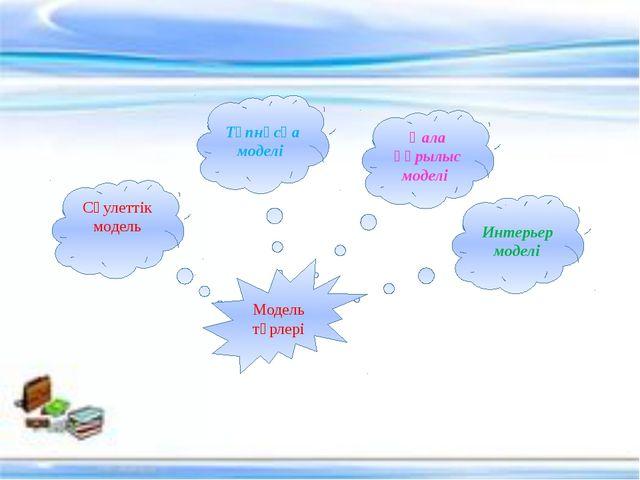 Сәулеттік модель Түпнұсқа моделі Интерьер моделі Қала құрылыс моделі Модель т...
