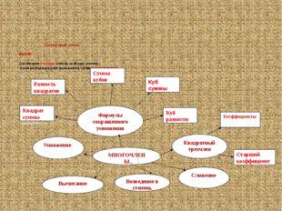 Актуализация знаний  ВЫЗОВ: Составление кластера, отвечая на вопрос учителя