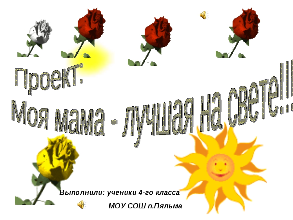 Выполнили: ученики 4-го класса МОУ СОШ п.Пяльма