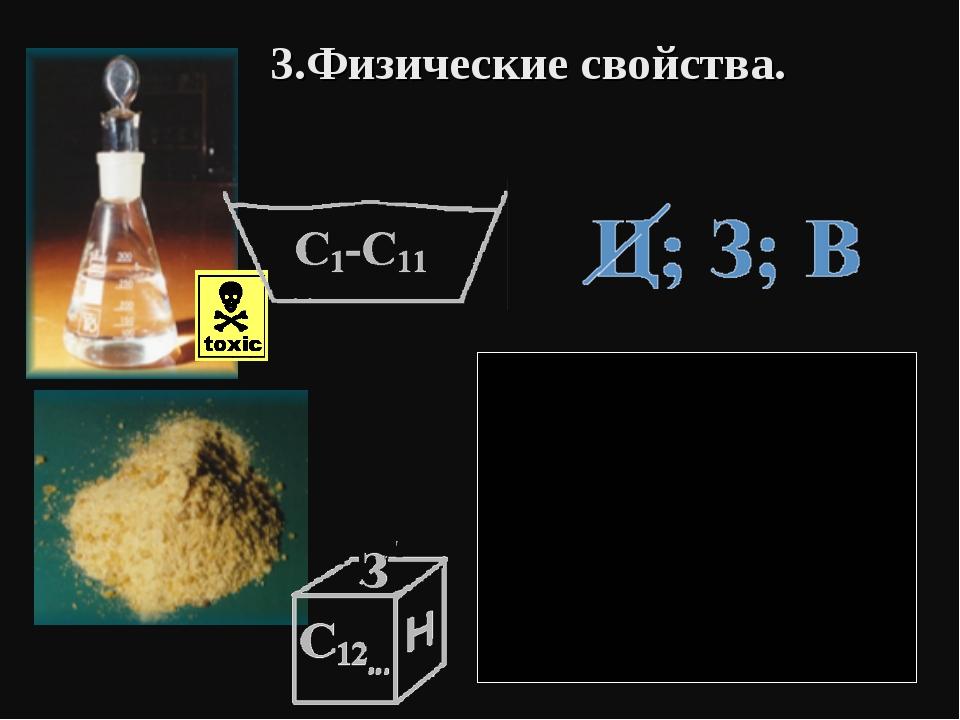 3.Физические свойства.