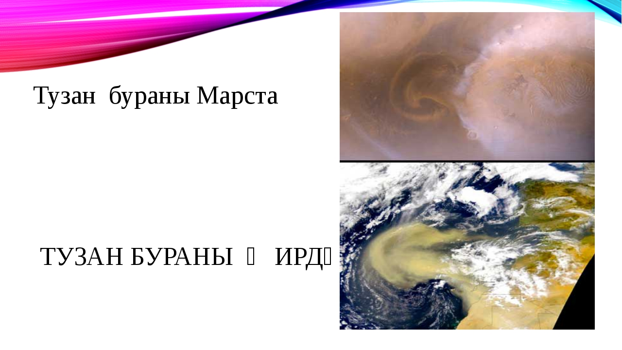 Тузан бураны Марста ТУЗАН БУРАНЫ ҖИРДӘ