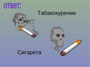 Табакокурение Сигарета