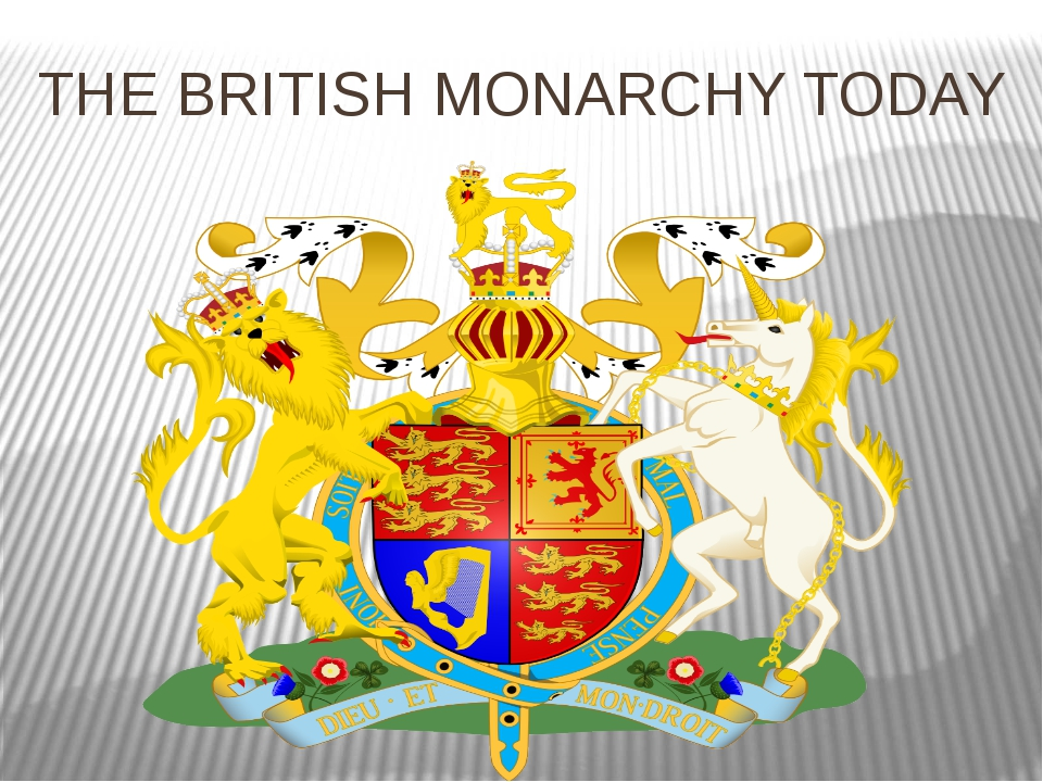 THE BRITISH MONARCHY TODAY