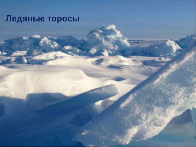 Ледяные торосы