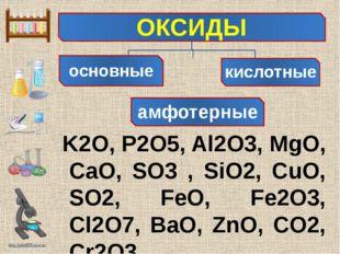 K2O, P2O5, Al2O3, MgO, CaO, SO3 , SiO2, CuO, SO2, FeO, Fe2O3, Cl2O7, BaO, Zn