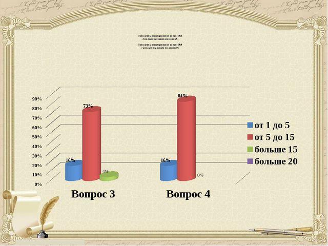 Результаты анкетирования вопрос №3 «Сколько вы знаете пословиц?» Результаты...
