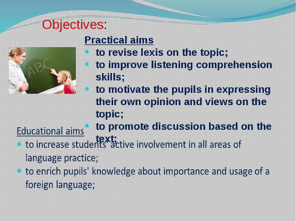 Practical aims to revise lexis on the topic; to improve listening comprehens...