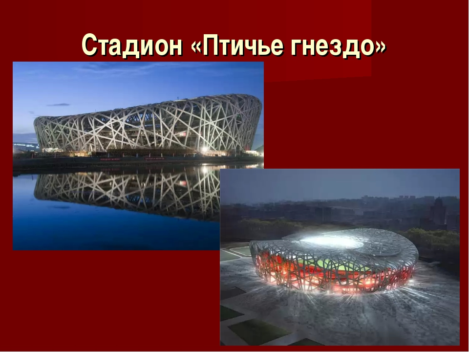 Стадион «Птичье гнездо»